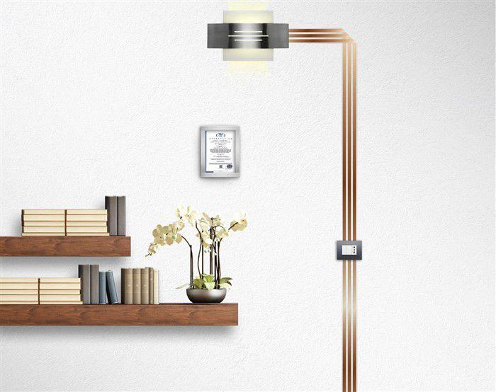 Impianti elettrici a vista 3 soluzioni di design - Impianti elettrici a vista per interni ...