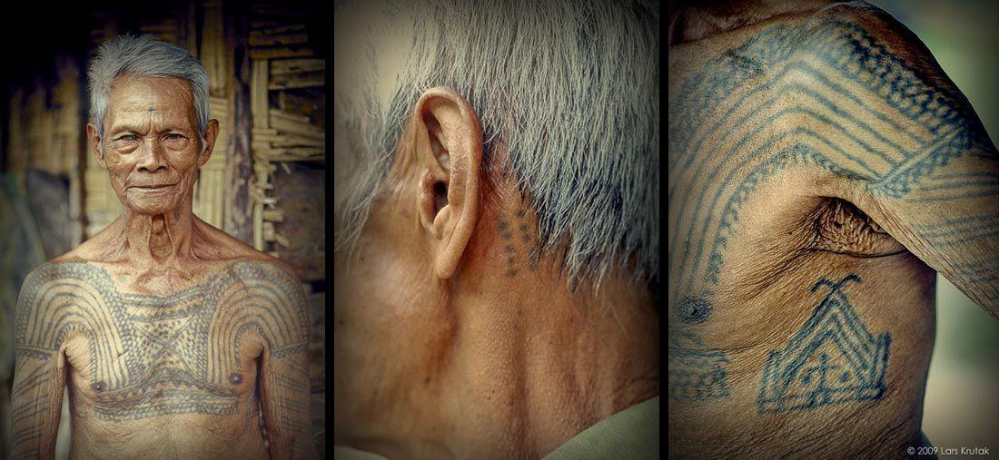 tatuaggio kalinga batok