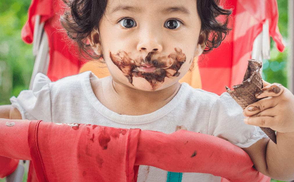 Macchia di cioccolato