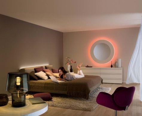 Illuminazione a led per la camera da letto i nostri consigli for Lampade stanza da letto