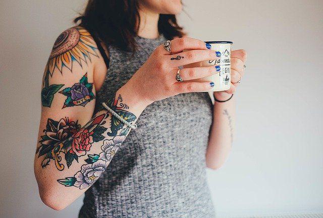 Tattoo Old School donna