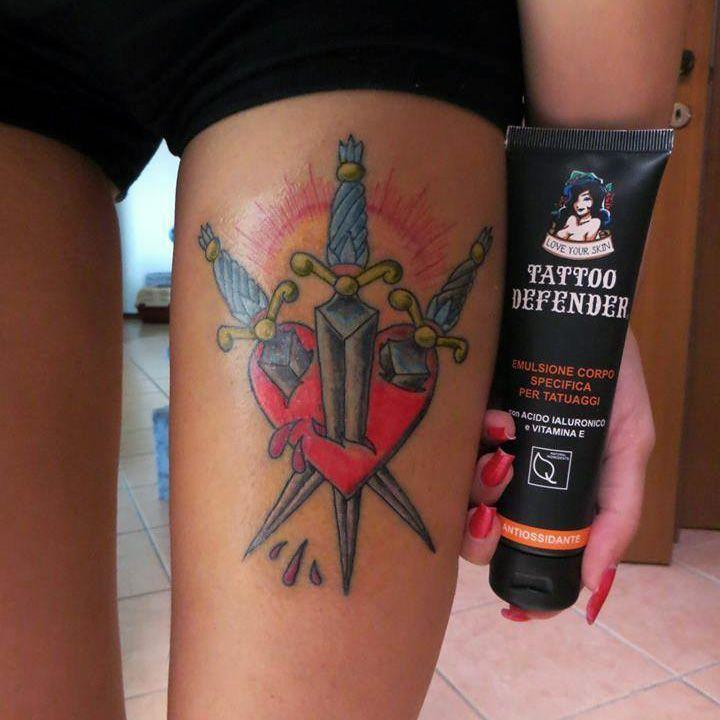 crema per rivitalizzare tatuaggio