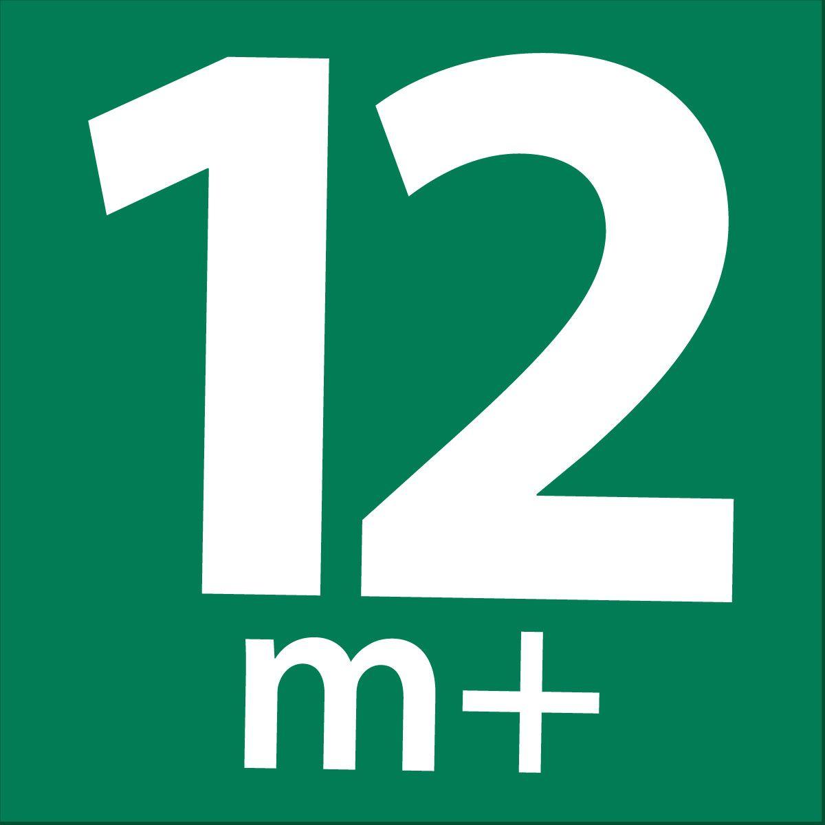 12 m+