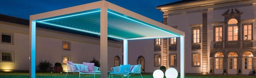 Come Illuminare un Gazebo con le Luci a LED